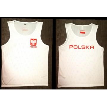 Koszulka startowa POLSKA ROLLY - techniczna MĘSKA