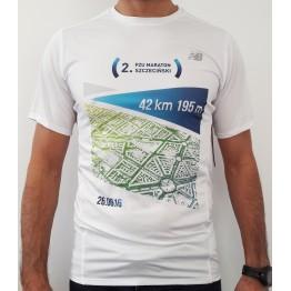 OFICJALNA KOSZULKA 2. PZU Maratonu Szczecińskiego 2016 - NewBalance MĘSKA